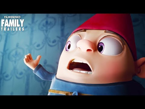 GNOME ALONE | Trailer for family animated movie with Becky G & Josh Peck
