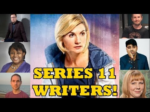 Who Are The Series 11 Writers? - DOCTOR WHO NEWS (видео)