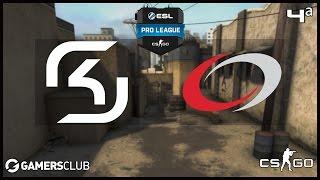 ESL Pro League S4 - SK Gaming vs. compLexity (Dust 2) - Narração PT-BR