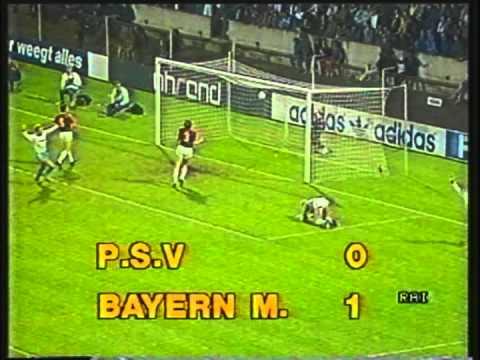 coppa dei campioni 1986-87: psv - bayern sedicesimi di finale-andata!
