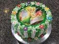 Ensinando a decorar bolo com bico serra