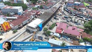Pinggiran Lantai Fly Over Rontok