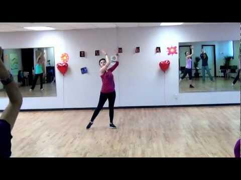 Зумба: хореография Фламенко. Урок видео обучения.