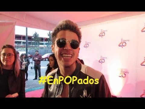 MARIO BAUTISTA Photocall + Entrevistas en Alfombra Roja #ElEvento40 #Bautisters #EnPOPados