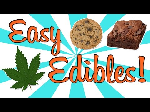 HOW TO MAKE EASY EDIBLES!! (видео)