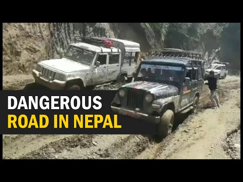 (Most dangerous Road of Nepal - Duration: 2 minutes, 42 seconds.)
