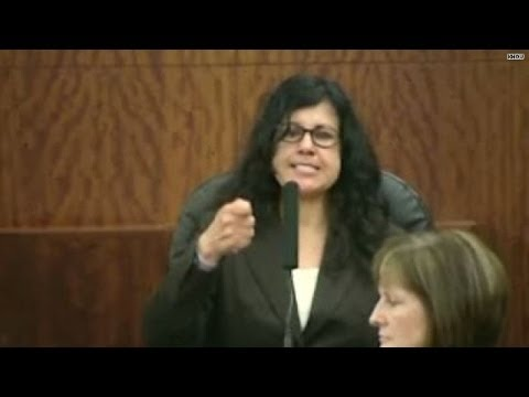 trujillo - The scene in a Houston, Texas, courtroom was as strange as you'll ever see.Ana Trujillo, found guilty of murdering her boyfriend with a 5 1/2 inch stiletto h...