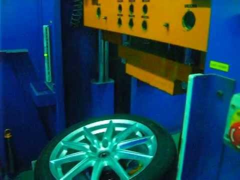Тест литых дисков WSP Italy W251 CANNES на удар обода (Alfa Romeо)