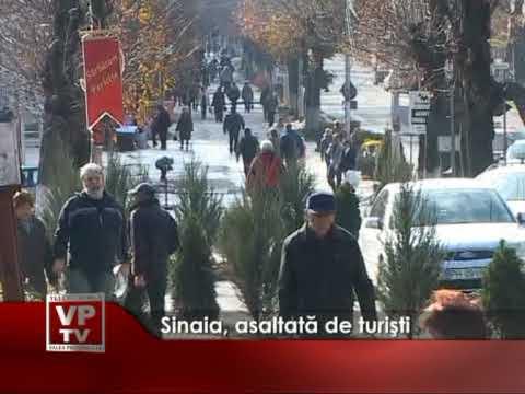 Sinaia, asaltată de turişti
