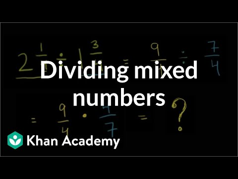 math worksheet : dividing mixed numbers video  khan academy : Dividing Negative Fractions