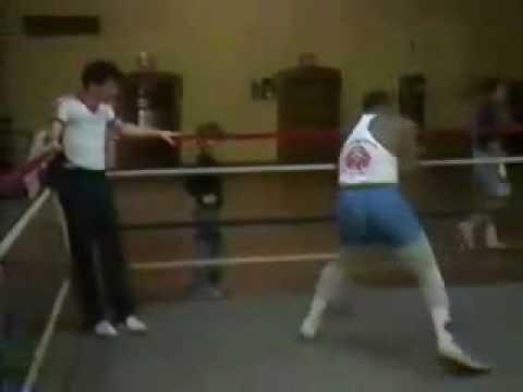 タイソンのシャドーボクシング