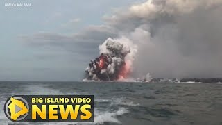 Video Hawaii Eruption: USGS Explains Lava Explosions At Ocean Entry (July 16, 2018) MP3, 3GP, MP4, WEBM, AVI, FLV November 2018