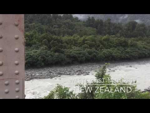 West Coat New Zealand 14 April 2017 (видео)
