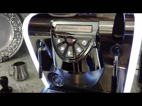 Nuova Simonelli Musica Espresso Machine Walkthrough – Barista Lab