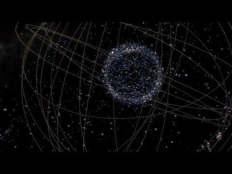 Gefährlicher Müll im All: Weltraumschrott gefährdet Sat ...