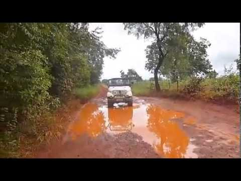 Trilha de Jeep (Abaeté-MG)