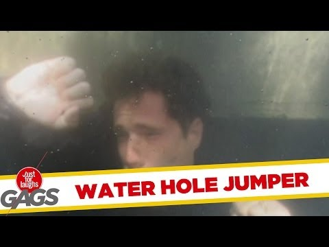 Water Hole Jumper Prank!