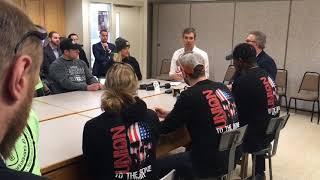 Beto O'Rourke makes campaign stop in Michigan