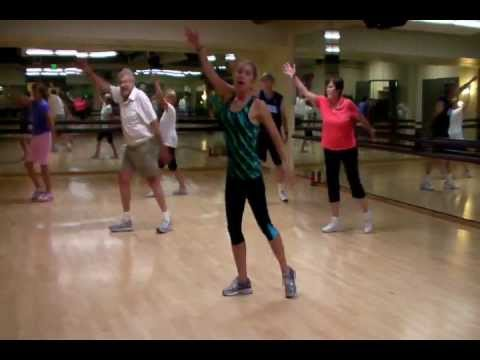 """Gimme Some Lovin'"" Senior Fitness Class Dance Routine"
