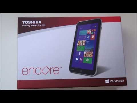 Toshiba Encore – Hands on and first impressions