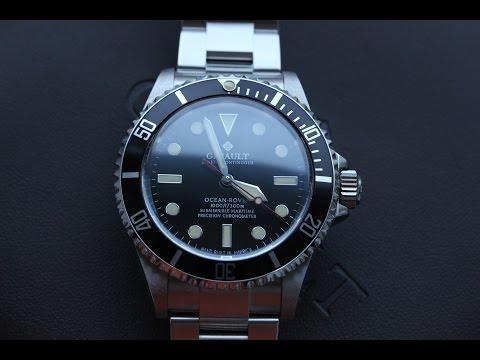Часы Ginault из США - лучший хомаж Ролекс (видео)