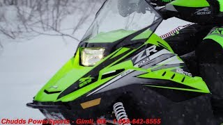 8. Arctic Cat 2019 Youth Snowmobiles