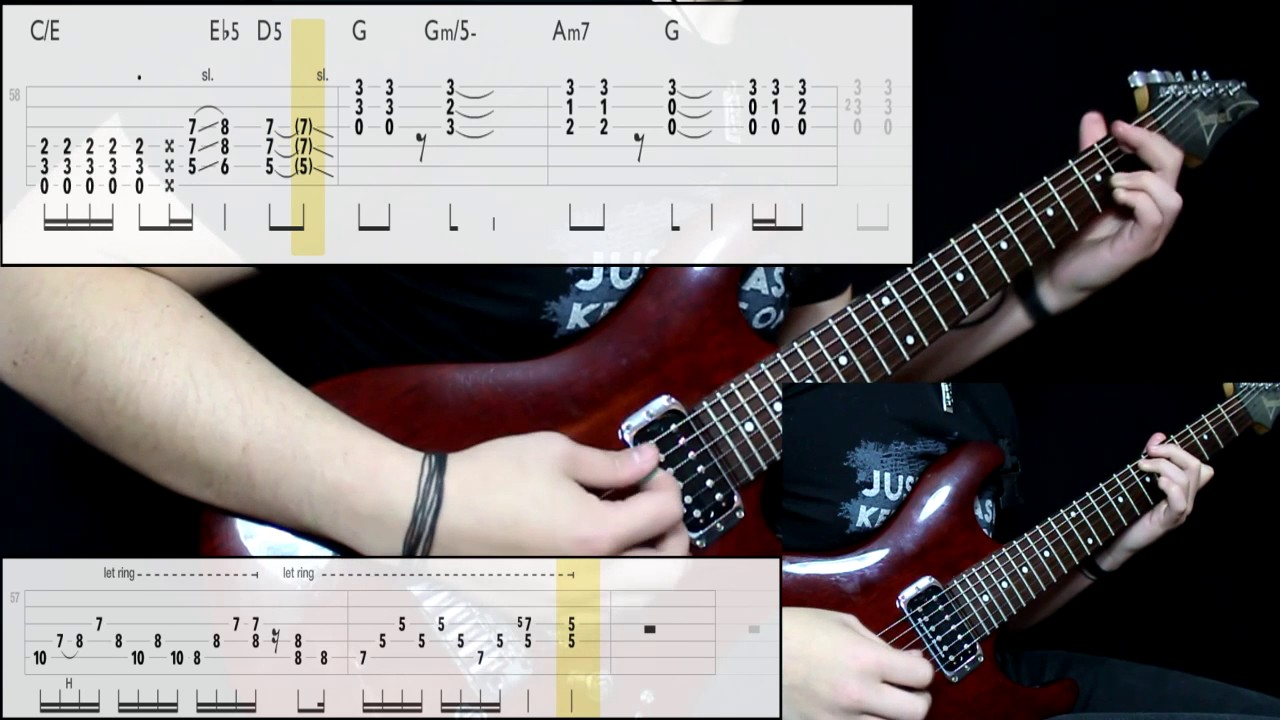 Stone Temple Pilots – Plush (Guitar Cover) (Play Along Tabs In Video)