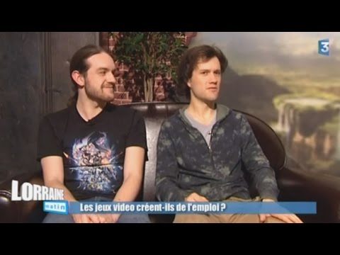 France - Reportage diffusé sur France 3 Lorraine, dans L'édition de l'emploi du 22 janvier 2015. Présentation du studio et de l'entreprise Mamytwink sur la thématique