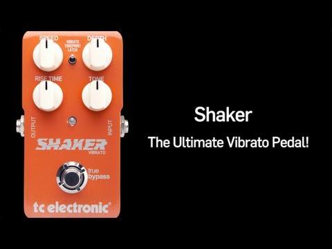 TC Electronic Shaker Vibrato Guitar Pedal