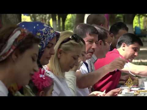 العرب اليوم - شاهد: الحدائق متعة الطبيعة في غازي عنتاب التركية