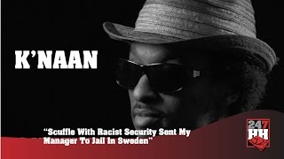 K'Naan - Scuffle With Racist Security Sent My Manager To Jail In Sweden (247HH Archives)