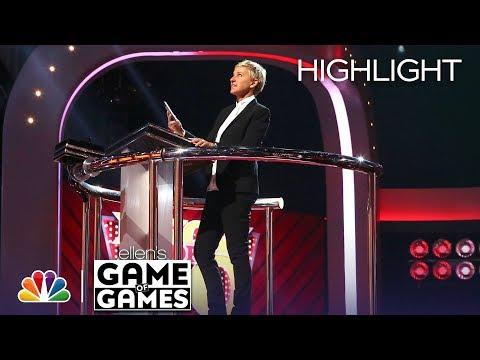 Ellen's Game of Games - Dizzy Dash: Episode 5 (Highlight) (видео)