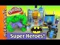LEGO Emmet, Batman, Spiderman, BUILD Lego Junior Batcave! Hulk Smashes! (Box Open)