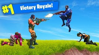 TWO vs TWO CHALLENGE in Fortnite Battle Royale