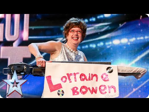 Golden Buzzer Act Lorraine Bowen Won't Crumble Under Pressure | Britain's Got Talent 2015