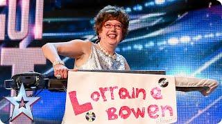 Golden Buzzer Act Lorraine Bowen Won T Crumble Under Pressure   Britain S Got Talent 2015
