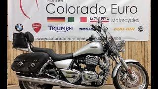 9. 2010 Triumph Thunderbird 1600 Launch Edition