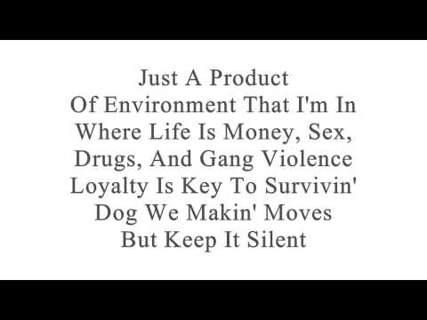 Slowpoke - Product Of Environment (Ft. Mr. Criminal) (With Lyrics On Screen)
