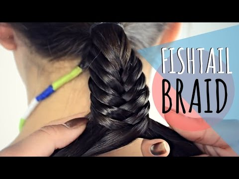 Fishtail braid / Trenza espina de pescado