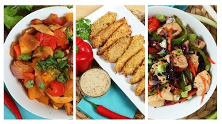 3 Healthy Chicken Recipes | Dinner Made Easy by The Domestic Geek