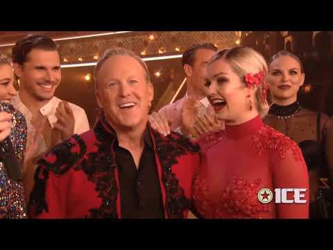 DWTS 28 - Sean Spicer & Lindsay Judge's Scores | LIVE 10-7-19