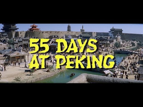 55 Days At Peking 1963 Trailer Restored in HD
