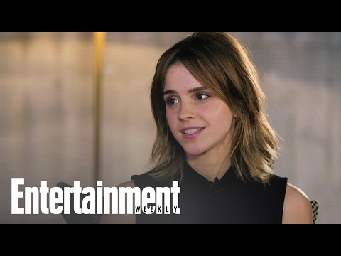 Emma Watson Responds To Claims That Belle Has Stockholm Syndrome | Entertainment Weekly (видео)