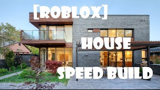 Roblox sandbox time lapse house vidinfo for Modern house uncopylocked