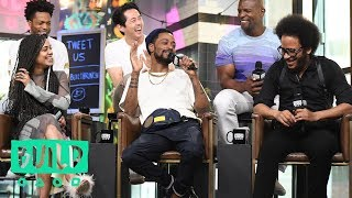 "Video Boots Riley, Lakeith Stanfield, Tessa Thompson, Jermaine Fowler, Terry Crews & Steven Yeun On ""Sorry MP3, 3GP, MP4, WEBM, AVI, FLV September 2018"