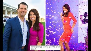 Don Jr  gushes over Kimberly Guilfoyle and agrees with her fans 'he's a lucky man'