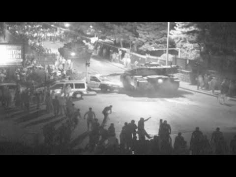 Darbe Gecesinden İnanılmaz Görüntüler