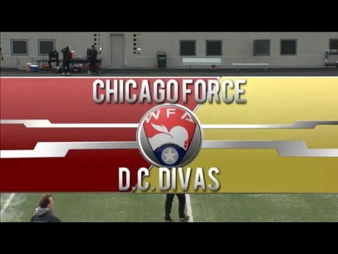 Chicago Force Vs. D.C. Divas Re-broadcast From 05/07/16
