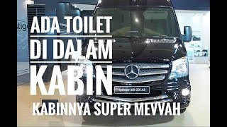 Video M-B Sprinter 315 CDI A3: Punya Kabin & Toilet Mewah | otomotifmagz.com MP3, 3GP, MP4, WEBM, AVI, FLV Januari 2019