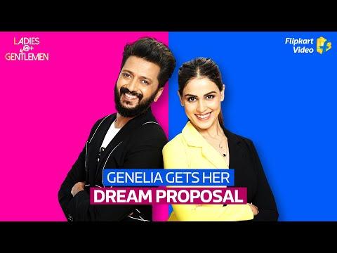 Riteish gives Genelia her perfect proposal! | Ladies v/s Gentlemen | Flipkart Video